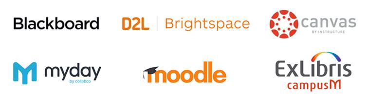 Student pulse integration logos