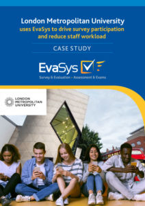 EvaSys Case Study London Metropolitan University cover